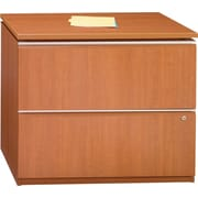Bush Business Furniture Milano2 36W 2 Drawer Lateral File, Golden Anigre (50F36GA)