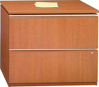 Bush Business Furniture Milano2 36W 2 Drawer Lateral File, Golden Anigre (50F36GA)