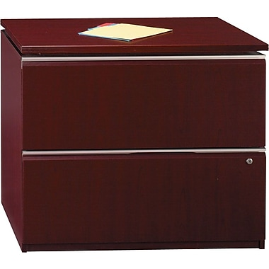 Bush Business Furniture Milano2 36W 2 Drawer Lateral File, Harvest Cherry (50F36CSFA)