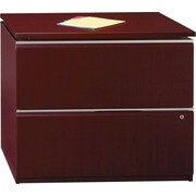 Bush Business Furniture Milano2 36W 2 Drawer Lateral File, Harvest Cherry (50F36CS)