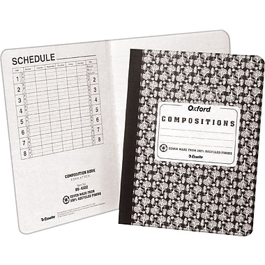 Oxford Composition Notebook, 9-3/4