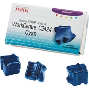Xerox WorkCentre C2424 Cyan Solid Ink (108R00660), 3/Pack