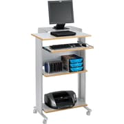 Safco® 1923GR Muv Stand-up Workstation, Grey