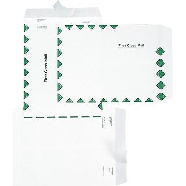 Tyvek® - Enveloppes plates, 10 po x 13, blanc 100/paquet