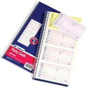 "Adams® Carbonless Two Part Petty Cash Book, 5"" x 11"",  200 Sheets, (SC1156)"