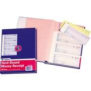 Adams Carbonless Hardbound Receipt Books, 7 5/8 inch x 11 inch , 3 Part by
