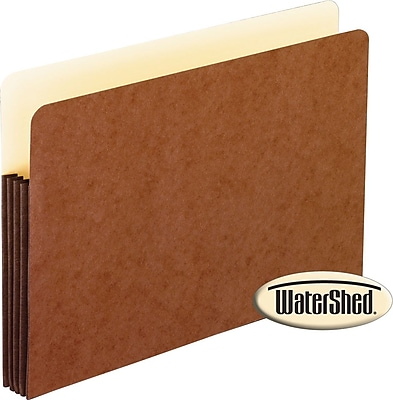 Pendaflex® Watershed Expanding File Pockets, Letter, 3-1/2