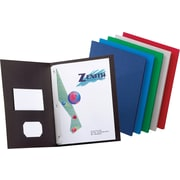 Staples® 2-Pocket Folders with Fasteners