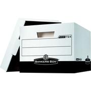 Bankers Box® - Boîtes de rangement robustes R-Kive®, lettre/légal, paq./12
