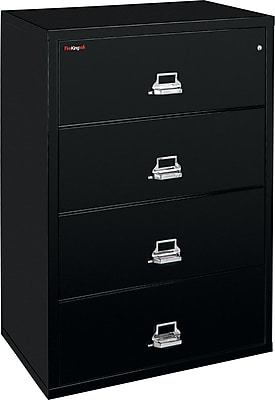 FireKing 4 Drawer Lateral File Cabinet, Includes White Glove Delivery (43822CBLI)