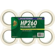 "Duck® HP260 High-Performance Packing Tape, 2"" x 60 yds, 6 Rolls"