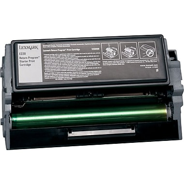 Lexmark 12S0400 Black Return Program Toner Cartridge