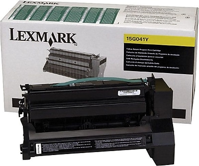 Lexmark 15G041Y Yellow Return Program Toner Cartridge