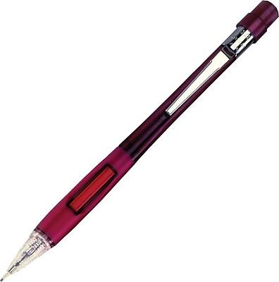 Pentel Quicker-Clicker™ Automatic Pencil .9mm, Burgundy Barrels, 2/Pack