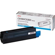 Okidata 42127403 Cyan Toner Cartridge, High Yield