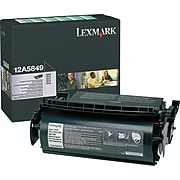 Lexmark 12A5849 Black High Yield Toner Cartridge