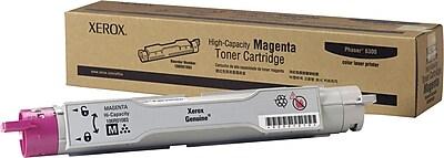 Xerox Phaser 6300 Magenta Toner Cartridge (106R01083), High Yield