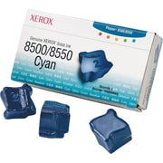 Xerox Phaser 8500/8550 Cyan Solid Ink (108R00669), 3/Pack