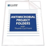 C-Line® Antimicrobial Protected Project Folders