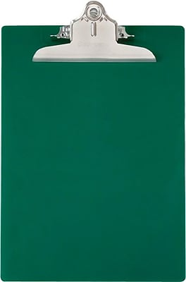 Saunders® Recycled Clipboard, Green