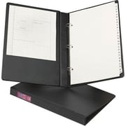 Avery 8.5 x 14 Inch Legal 1-Inch Round 3-Ring Binder, Black (6400)