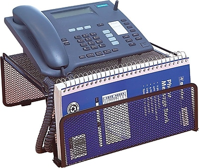 Staples Black Wire Mesh Phone Stand