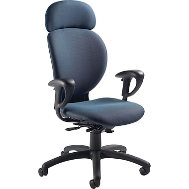 Global® Azeo High-Back Multi-Tilt Chair, Ocean