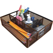 Staples Metal Mesh Drawer Organizer