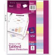 Avery Protect 'N Tab Sheet Protectors