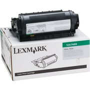 Lexmark Black Toner Cartridge for Label Applications (12A7469), Extra High Yield, Return Program