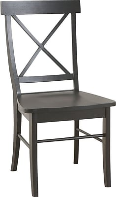 Carolina Cottage Essex Chair, Antique Black