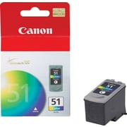 Canon CL-51 Color Ink Cartridge (0618B002), High Yield