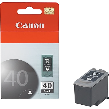 Canon® PG-40 Black Ink Cartridge (615B002AA)