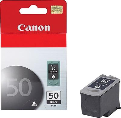 Canon PG-50 Black Ink Cartridge (0616B002), High Yield