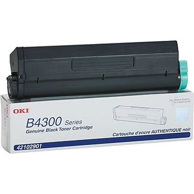 OKI 42102901 Toner Cartridge, High Yield