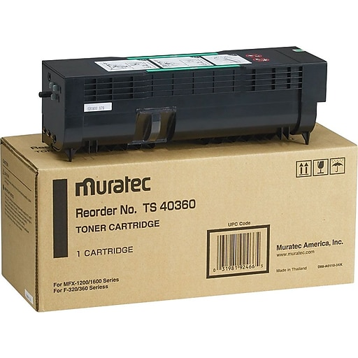 muratec ts 40360 toner cartridge staples. Black Bedroom Furniture Sets. Home Design Ideas