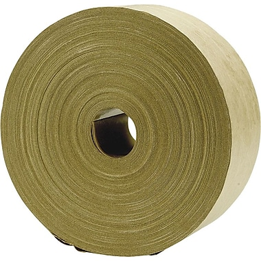 Kraft Paper Tape, Reinforced, Natural, 2 3/4