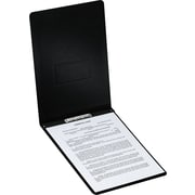 "Oxford® PressGuard® Report Cover with Top Hinge, 8 1/2"" x 14"", Black"