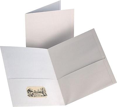 Staples® 2-Pocket Folder, White