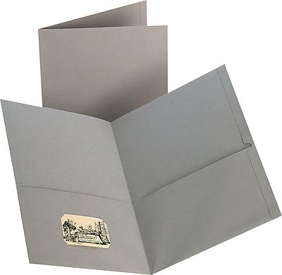 Staples® 2-Pocket Folder, Gray