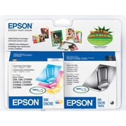EPSON® T060120 T060520 Black & DURABrite Ultra Color Ink Cartridges Multi-pack (4 cart per pack)