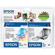 Epson T60 Black/Cyan/Magenta/Yellow Standard Yield Ink Cartridge, 4/Pack