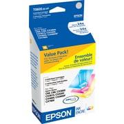 Epson 60 Color C/M/Y Ink Cartridges w/ Photo Paper (T060520-VP), Combo 3/Pack