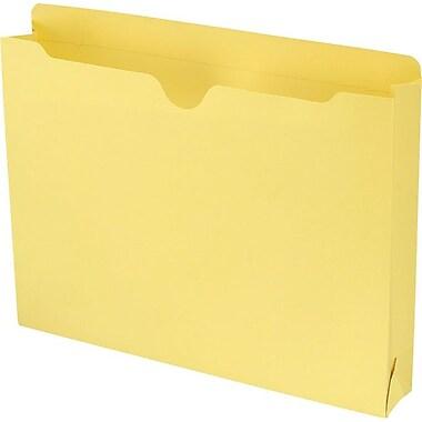 Smead® File Jacket, Reinforced Straight-Cut Tab, 2