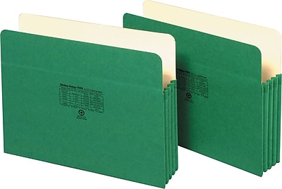 Pendaflex® Colored File Pockets, 3.5
