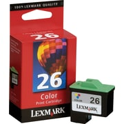 Lexmark Ink Cartridge, 26 (10N0026), Color