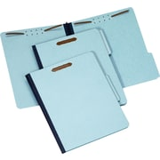 "Staples Pressboard Fastener Folders, Letter, 1"" Expansion, 25/Box"
