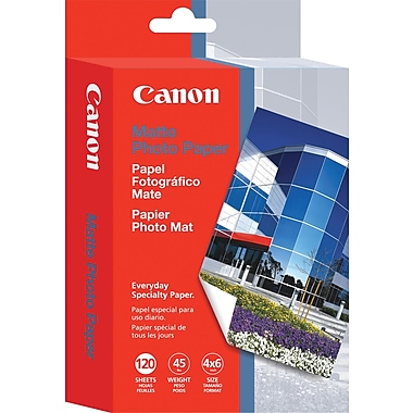 Canon® Matte Photo Paper, 4