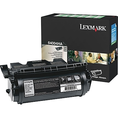 Lexmark T640/644 Black Toner Cartridge (64004HA), High Yield Return Program