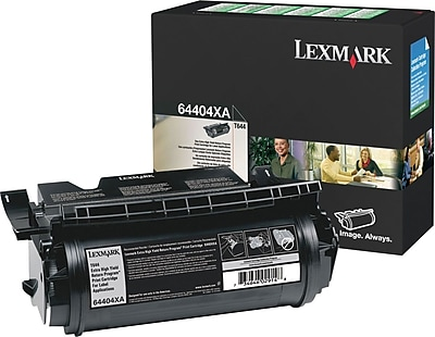 Lexmark T644 Black Toner Cartridge for Label Applications (64404XA), Extra High Yield Return Program